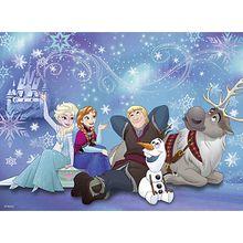 Puzzle, 100 Teile XXL, 49x36 cm, Disney Die Eiskönigin: Eiszauber