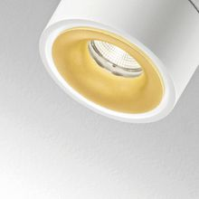 Clippo Duo LED Wand- und Deckenstrahler weiss-gold