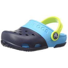 crocs Electro II Clog, Unisex - Kinder Clogs, Blau (Navy/Electric Blue), 20/21 EU