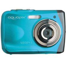 "easypix Unterwasser Digitalkamera Aquapix W1024 ""Splash"" - eisblau hellblau"