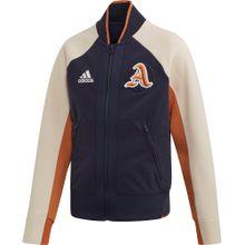 ADIDAS PERFORMANCE Trainingsjacke beige / blau / mischfarben