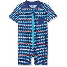 Schiesser Baby-Jungen Badeanzug Wal Willy Surfanzug, Blau (Türkis 807), 62 (Herstellergröße: 412)