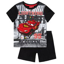 Disney Cars Jungen Shorty-Pyjama - schwarz - 110