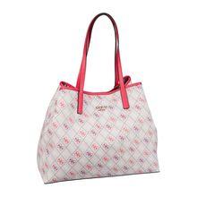 Guess Handtasche Vikky Large Tote Logo Handtaschen beige Damen