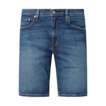 Tapered Fit Jeansshorts mit Stretch-Anteil Modell '502'