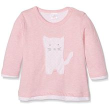 Kanz Baby-Mädchen Bekleidungsset T-Shirt 1/1 Arm + Hose, Rosa (Peony Melange 8295), 68