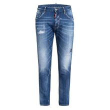 DSQUARED2 Destroyed Bootcut Jeans Extra Slim Fit