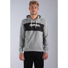 Kaporal Sweatshirt 'Sybus' grau / schwarz / weiß