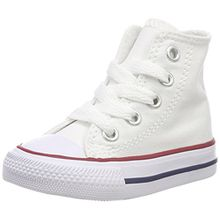 Converse Chuck Taylor All Star Hi 015860-21-3, Unisex - Kinder High-top Sneakers, Weiß (Optical Weiß), EU 21