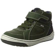 Lurchi Jungen Barney-Tex Hohe Sneaker, Grün (Dk.Green Deep Forest), 34 EU
