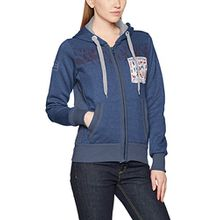 Geographical Norway Damen Sweater Gwen Lady, Blau (Navy), Large (Herstellergröße: 3)