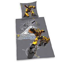 Herding 440361050 Bettwäsche Transformers, Kopfkissenbezug: 80 x 80 cm + Bettbezug: 135 x 200 cm, 100 % Baumwolle, Renforce