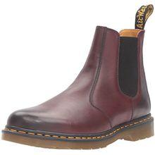 Dr. Martens R22012410, Unisex Erwachsene Kurzschaft Stiefel, Rot - Kirschrot - Größe: 41 F(M) EU