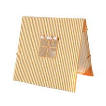 ferm Living - Spielzelt, Thin Striped senf