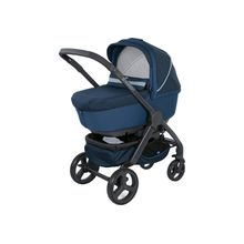 Chicco Kombi Kinderwagen DUO STYLEGO UP CROSSOVER, Blue Passion