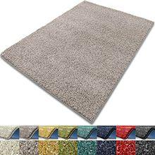 Teppich Luxury | viele Größen | flauschig, modernes Shaggy / Hochflor Design | für Wohnzimmer, Schlafzimmer, Jugendzimmer (grau, 300x400 cm)