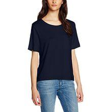 Opus Damen T-Shirt Sewi, Blau (Dark Night 6041), 40