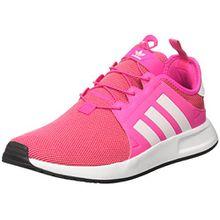 adidas Unisex-Kinder X_PLR J Sneakers, Pink (Shopin/Ftwwht/Shopin), 37 1/3 EU