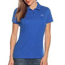 Puma Funktionspolo in blau für Damen
