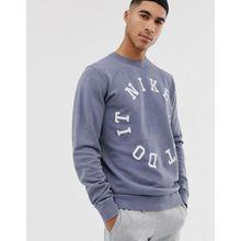 Nike - Just Do It - Sweatshirt - Navy