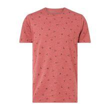 Regular Fit T-Shirt mit Allover-Muster Modell 'Lynch'