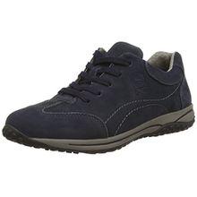 Gabor Geno, Damen Sneakers, Blau - Dark Blue (Dark Blue Nubuck) - Gr. 40.5 EU/7 UK