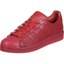 Adidas Sneaker Superstar Adicolor S80326 Rot Rot, Schuhgröße:42 2/3