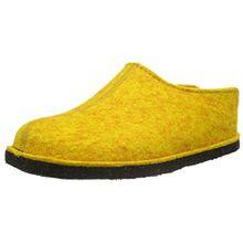 Haflinger Unisex-Erwachsene Flair Smily Pantoffeln, Gelb (Mais 252), 41 EU