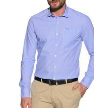 New Zealand Auckland Hemd Custom Fit in blau für Herren