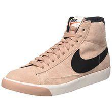 Nike Damen Blazer Mid Vintage Suede Hohe Sneaker, Pink (Particle Pink/Black-Ivory-Gum Medium Brown), 38 EU