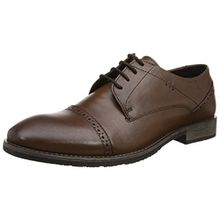 Hush Puppies Herren Craig Luganda Derbys, Braun (Brown), 46 EU