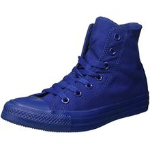 Converse Unisex-Erwachsene All Star Hi Monochrome High-Top, Blau, 42,5 EU