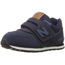 New Balance Unisex-Kinder Sneaker, Blau (Blue/Black), 28 EU (10 UK Child)