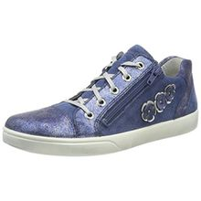 Superfit Mädchen Marley Sneaker, Blau (Water Kombi), 37 EU