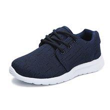Hawkwell Unisex Kinder/Jugend Leicht Runing Sportschuhe Sneakers Laufschuhe Marineblau 35EU