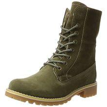 Tamaris Damen 26443 Combat Boots, Grün (Olive), 37 EU