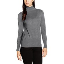 Betty Barclay Damen Pullover Knitted, Grau (Grey Melange 9707), 40