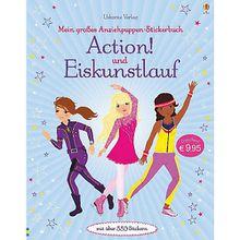Buch - Mein großes Anziehpuppen-Stickerbuch: Action! und Eiskunstlauf