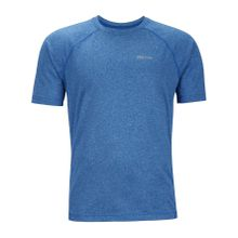 Marmot - Accelerate Shortsleeve Herren Funktionsshirt (blau) - L