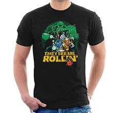 They See Me Rollin Dungeons And Dragons Men's T-Shirt