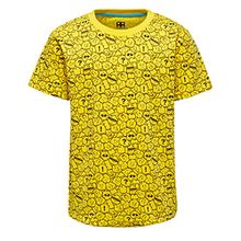 Lego Wear Jungen T-Shirt Lego Boy M, Gelb (Yellow 222), 134
