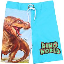 Dino World Kinder Badeshorts mit UV-Schutz 50+ blau Jungen Kleinkinder