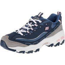 SKECHERS D'LITESNEW JOURNEY Sneakers Low dunkelblau Damen
