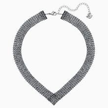 Fit Halskette, schwarz, rutheniert