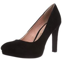 Buffalo Shoes H748-1 P1804A, Damen Plateau Pumps, Schwarz (BLACK 01), 36 EU
