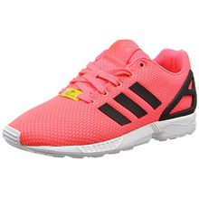 adidas ZX Flux, Unisex-Kinder Sneakers, Rot (Flash Red S15/Core Black/FTWR White), 36 EU (3.5 Kinder UK)