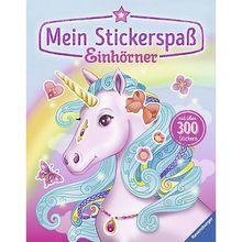 Buch - Mein Stickerspaß: Einhörner