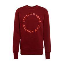 SCOTCH & SODA Sweatshirt rostrot