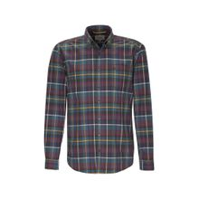 CAMEL ACTIVE Hemd nachtblau / senf / grau / petrol / rot