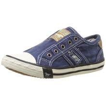 Mustang 5803-405-841, Unisex-Kinder Sneakers, Blau (841 jeansblau), 34 EU